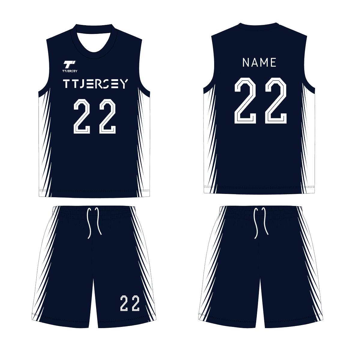 TTJersey 籃球波衫設計 球衣 設計
