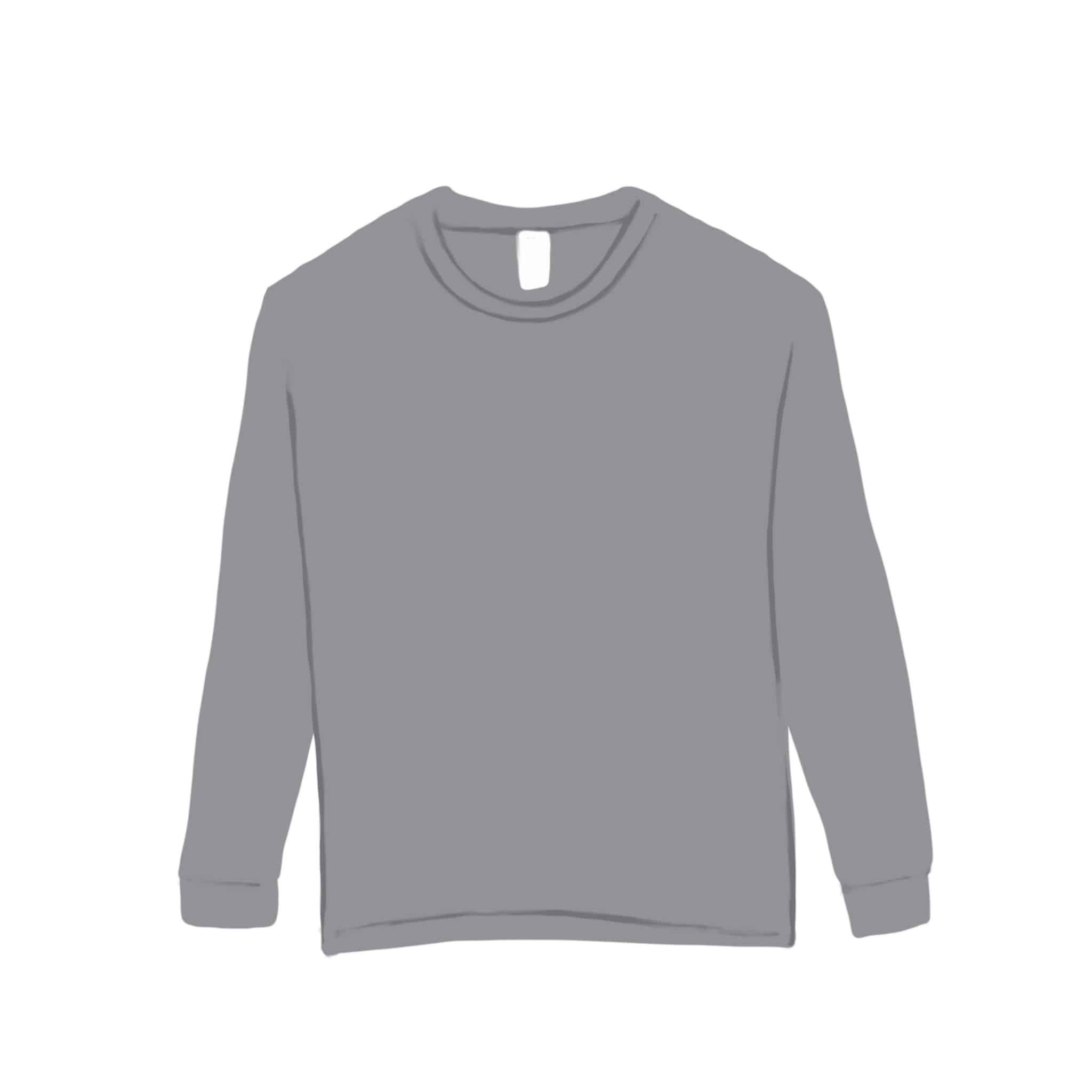TTFORTEE- Gildan T-Shirt (long sleeve)Grey
